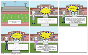 school spirit interview questions storyboard by almighty gabby