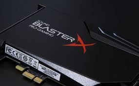 Обзор <b>звуковой карты Creative Sound</b> BlasterX AE-5