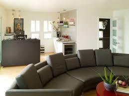 living room large gray curved sofa big living room furniture living room