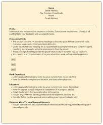 functional resume dummies online resume format functional resume dummies example of a functional resume the balance section resume examples 24 cover letter