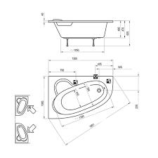 <b>Акриловая ванна Ravak Asymmetric</b> 150 x 100 R в Санкт ...