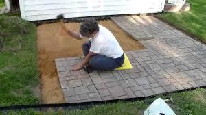 working creating patio:  maxresdefault