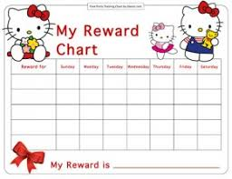 Potty Training Charts for Boys and Girls: 39 Free Templates