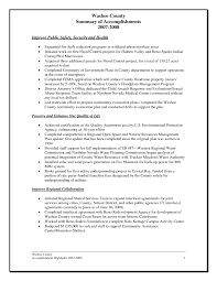 summary of achievements resume examples examples of resume summary of accomplishments examples template