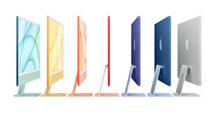 iMac features all-<b>new</b> design in vibrant colors, M1 chip, and 4.5K ...