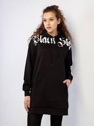 Худи-платье <b>GOTHIC WORDS</b> 2.0 Black Star Wear, арт. 35653 ...