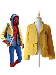 <b>Spiderman</b> Homecoming <b>Cosplay</b> Jacket School <b>Uniform</b> - Milanoo ...