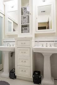 jill bathroom configuration optional: double pedestal sinks with storage drawers in between bathroom decorbathroom ideasbathroom layoutbathroom makeoverbathroom renovation whiteblack