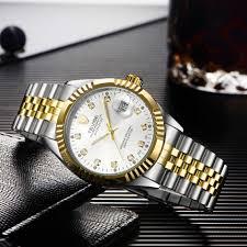 <b>TEVISE</b> 629-001 Business Style Men <b>Automatic Mechanical</b> ...