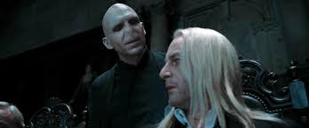 image dh voldemort and lucius malfoy jpg harry potter wiki file dh1 voldemort and lucius malfoy jpg