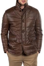 Кожаная <b>куртка ROCCOBAN</b> арт RBAK10024M_ANTIQUEBROWN ...