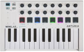 Купить <b>mIDI</b>-<b>клавиатура Arturia MiniLab MkII</b> (MCI54480) в Москве ...