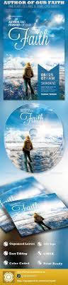 author of our faith church flyer and cd template by loswl author of our faith church flyer and cd template church flyers