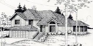 Bedroom Family House Plans   Free Online Image House Plans    Basement House Plans For Sloping Lots on bedroom family house plans