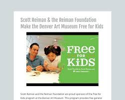 scott reiman the reiman foundation make the denver art museum scott reiman the reiman foundation make the denver art museum for kids tackk