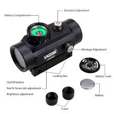 Online Shop <b>Tactical</b> 1X40 <b>Holographic</b> Dot Sight Airsoft Red Green ...