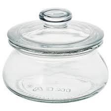 <b>VARDAGEN ВАРДАГЕН</b> Банка с крышкой, прозрачное стекло0.3 л