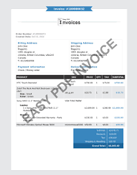 magento pdf templates change the look of your invoice layout invoice pro blue