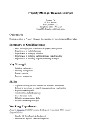 assistant property manager resume template design 18 property manager resume sample job and resume template throughout assistant property manager resume 3729