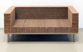 cool cardboard couch card board furniture