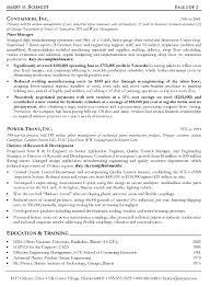 finance resume templatemanufacturing supervisor resume samples cover letter production manager resume sample production manager resume for manufacturing