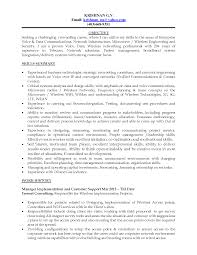 resume summary examples for telecommunications cover letter resume summary examples for telecommunications telecommunications technician resume sample livecareer resume networking resumes page network engineer