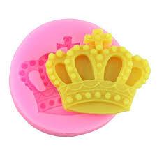 Mujiang Baking Molds <b>Silicone Crown</b> Fondant Mold Queen <b>Candy</b> ...