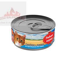 консервы для щенков родные корма мясное угощение с говядиной 340 г