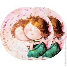 ᐈ Купить GAPCHINSKA Набор тарелок Ты мое <b>счастье</b> 19 см 2 ...