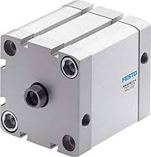 Festo 536329 Compact Double Acting <b>Cylinder</b>, ADN-50-80-I-P-A ...