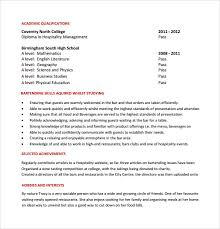 sample bartender resume template     download free documents in    bartender resume sample