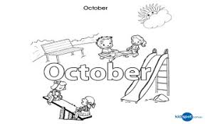 Small Picture Activities For Kids October Colouring In
