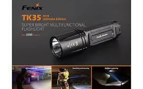 Fenix TK35 UE 2018 <b>Cree XHP70 LED</b> 18650 <b>Rechargeable</b> ...