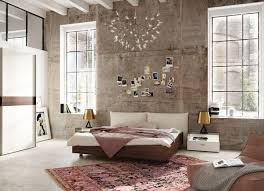 modern bedroom concepts: view in gallery modern bedroom design with a distressed wall hulsta