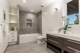 images of bathroom tile  tags contemporary full bathroom with limestone counters drop in bathtub high ceiling grey