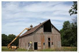 this video is the final process of taking down this specific barn after we have stripped all of the wood out of it only the frame remains barn wood furniture ideas