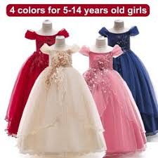 Fashion Kids Party Dresses Easter Flower Girls Dresses For ... - Vova