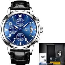 <b>Relogio Masculino LIGE Mens</b> Watches Top Brand Luxury Fashion ...