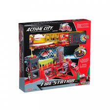 <b>RealToy</b> Игровой набор <b>Пожарная станция</b> звук свет 28369 ...