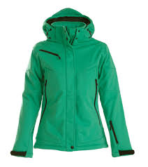 <b>Куртка софтшелл женская</b> Skeleton Lady, зеленая, арт. 1471.90 ...