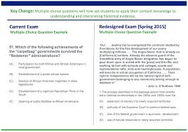 college board announces changes to ap u s history coursework and exam screen shot 2014 08 24 at 11 07 16 am