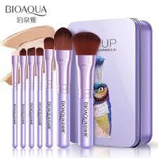 Online Shop BIOAQUA Brand <b>7pcs Pro Makeup Brushes Set</b> Soft ...