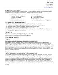 example qualifications summary administrative strenghts and example qualifications summary administrative strenghts and competencies resume summary for administrative assistant resume sample