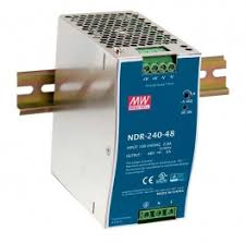 POW-4851 <b>48V</b> DC Industrial <b>Power</b> Supply, <b>240W</b>, <b>DIN</b>-<b>Rail</b>, PoE ...