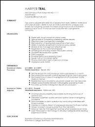 free creative insurance claims adjuster resume template resumenow claims adjuster resume sample