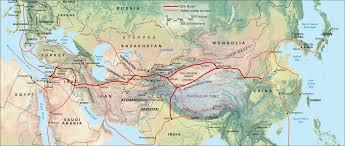 Along the <b>Silk Road</b> (<b>wall</b> map) – SPICE Store