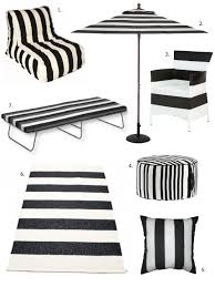 black and white stripes pack a bold punch which is great because summer is no time to be subdued and demure go for it with this striped furniture and black and white striped furniture