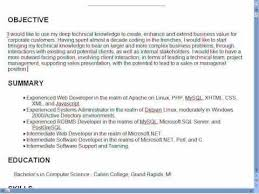 good resumes objectivesgood objective statement