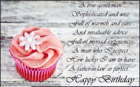 Birthday wishes for father in law - Happy Birthday Father Quotes ... via Relatably.com