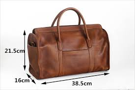 <b>PNDME vintage</b> handmade genuine leather travel bag simple ...